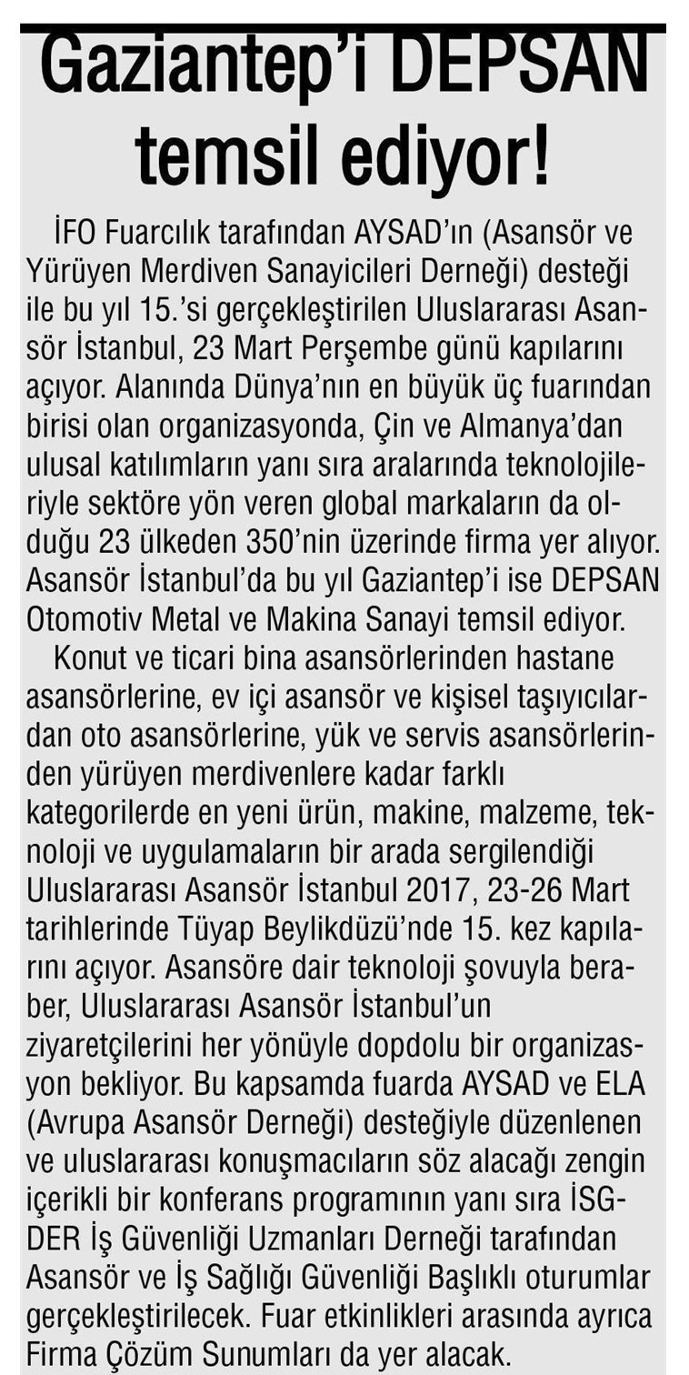 Gaziantep Anadolu Haber
