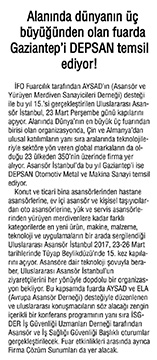 Gaziantep'te Zafer Gazetesi